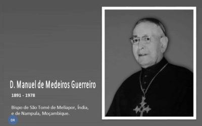 Paróquia de Santa Cruz da Lagoa prepara biografia de D. Manuel de Medeiros Guerreiro