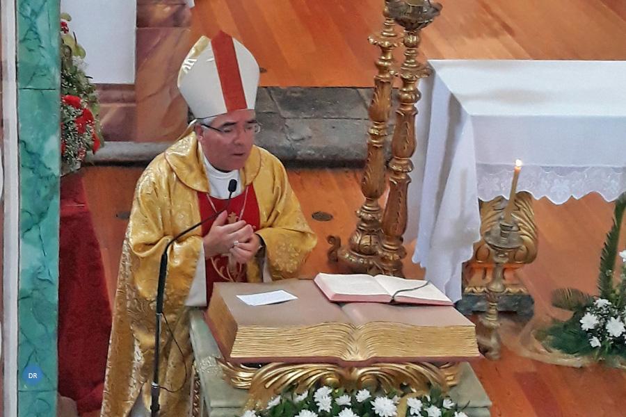 Bispo auxiliar de Braga convida peregrinos do Senhor Bom Jesus a uma vida de entrega a Deus sem reserva e iluminada pela Sua palavra