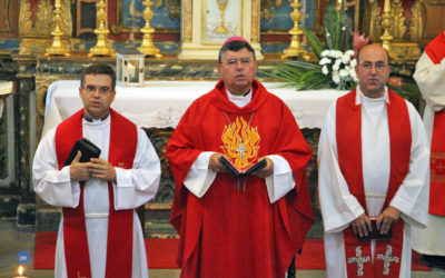 """Bispo de Angra desafia seminaristas a aprenderem a fazer a experiência da """"comunhão"""" e da """"humildade"""""""