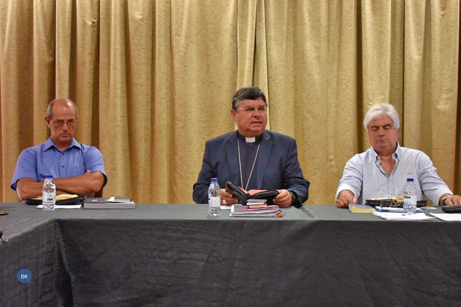 Jornadas de formação do Clero da diocese de Angra orientadas pelo bispo diocesano e pelo Vigário Episcopal para a Formação