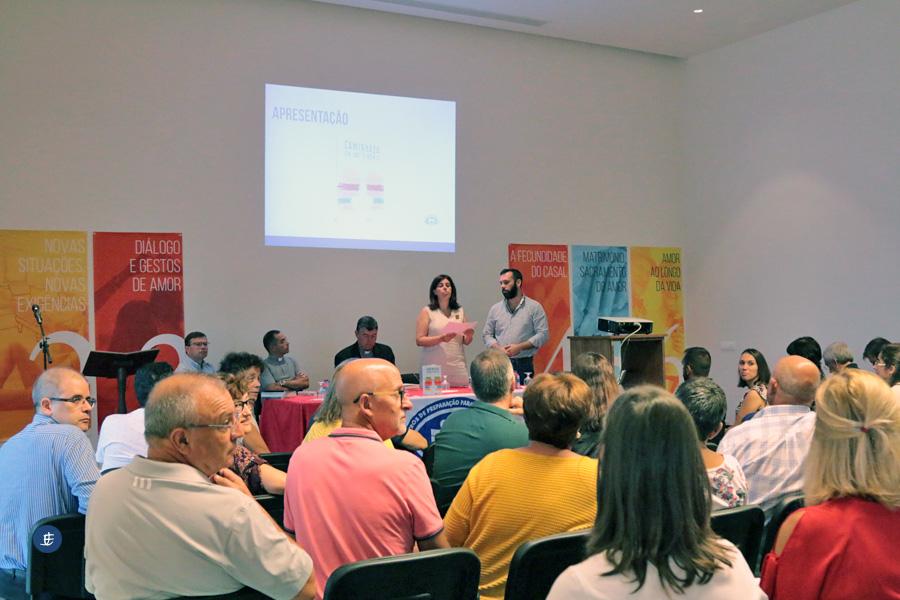 Equipas formativas do Centro de Preparação para o Matrimónio encontram-se em São Miguel