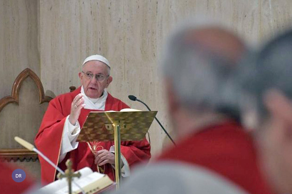 """""""Anunciar Cristo não é marketing, mas coerência de vida"""" diz o papa Francisco"""