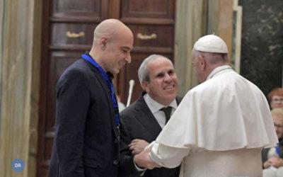 Papa defendeu o «ideal de partilha e promoção da pessoa com deficiência»