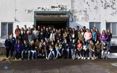 Jovens do Faial em recoleção de Advento
