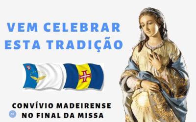 Madeirenses celebram Missa do Parto em Ponta Delgada