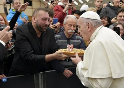 Papa Francisco celebra 82.º aniversário