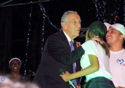 """Presidente da República chegou ao Panamá com a """"expetativa» de levar para Portugal uma «grande alegria"""""""