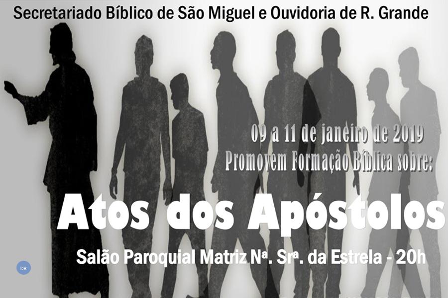 Ouvidoria da Ribeira Grande organiza jornada bíblica sobre os Atos dos Apóstolos