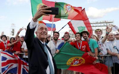 """Jornada da Juventude em Lisboa é uma """"vitória da língua portuguesa e da lusofonia"""" – Presidente da República"""