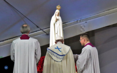Papa desafia jovens a ser influenciadores do século XXI ao jeito de Maria