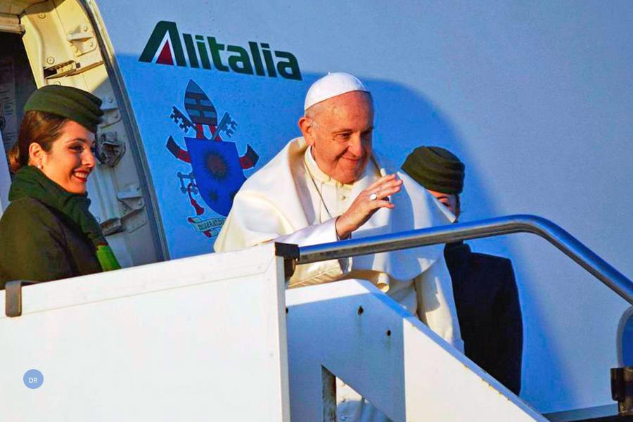 2019 projeta-se como ano de «recorde» de viagens para o Papa