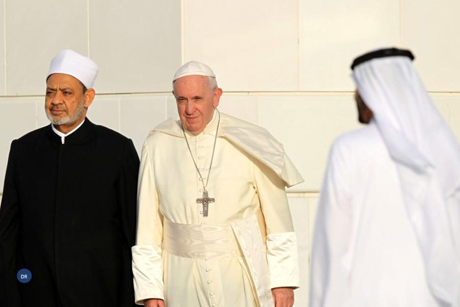 Papa Visita Emirados Árabes Unidos