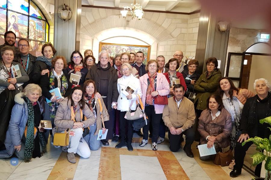 Peregrinação à Terra Santa juntou peregrinos dos Açores aos da diocese de Viseu