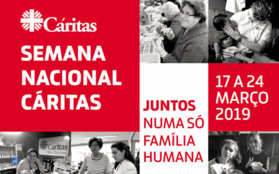 """Semana Nacional Cáritas – """"Juntos numa só Família Humana"""""""