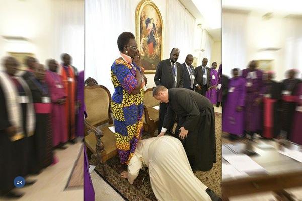 O gesto do servo dos servos de Deus
