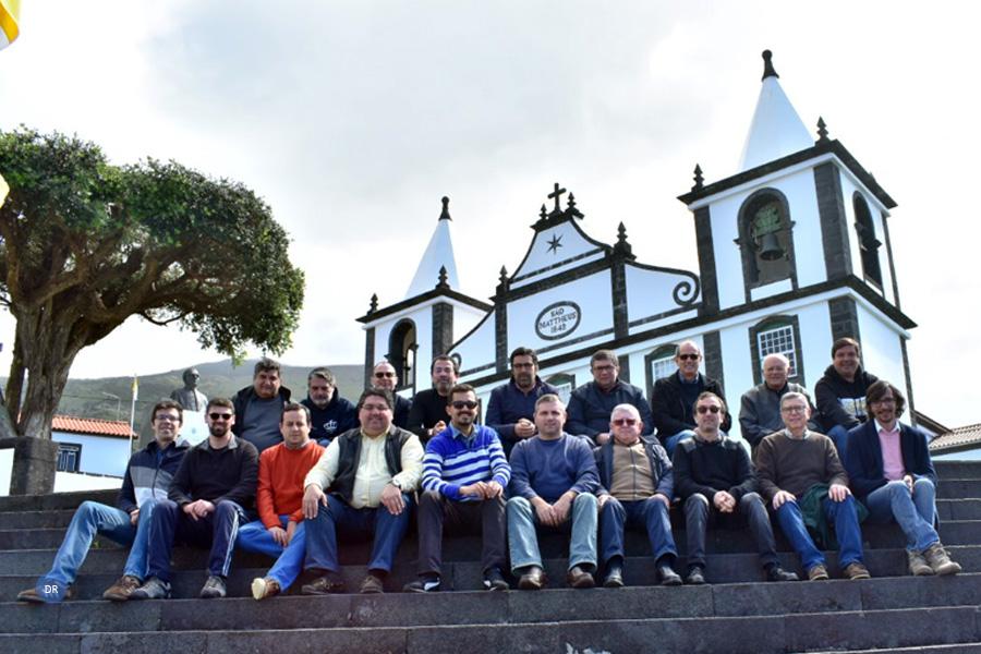 Dezanove membros do clero participaram no terceiro turno de retiro do clero diocesano