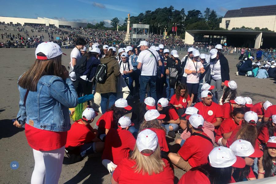 Mensageiros açorianos presentes na Peregrinação Nacional das Crianças