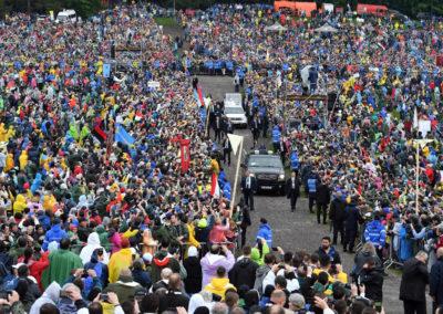 Papa está na Roménia para visita de dois dias