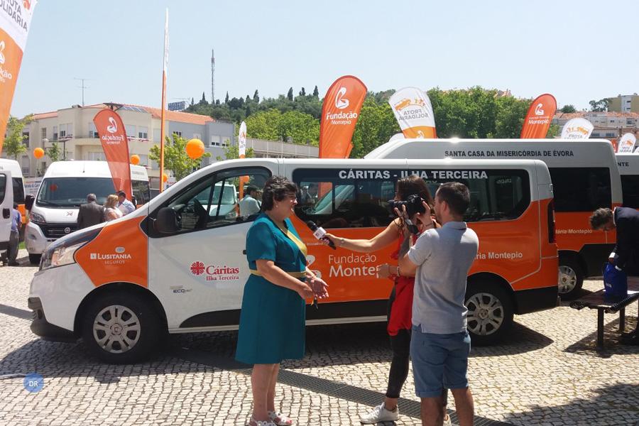Cáritas da Ilha Terceira recebe viatura através do Programa Frota Solidária da Fundação Montepio
