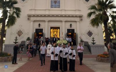 Bispo de Angra presidiu ao centenário da Igreja das Cinco Chagas em São José da Califórnia