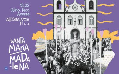 Festas de Santa Maria Madalena começam dia 13 de julho e serão pregadas pelo Pe. Pedro Lima