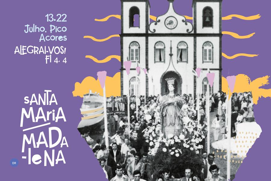 Pe. Pedro Lima prega Solenidade de Santa Maria Madalena no Pico