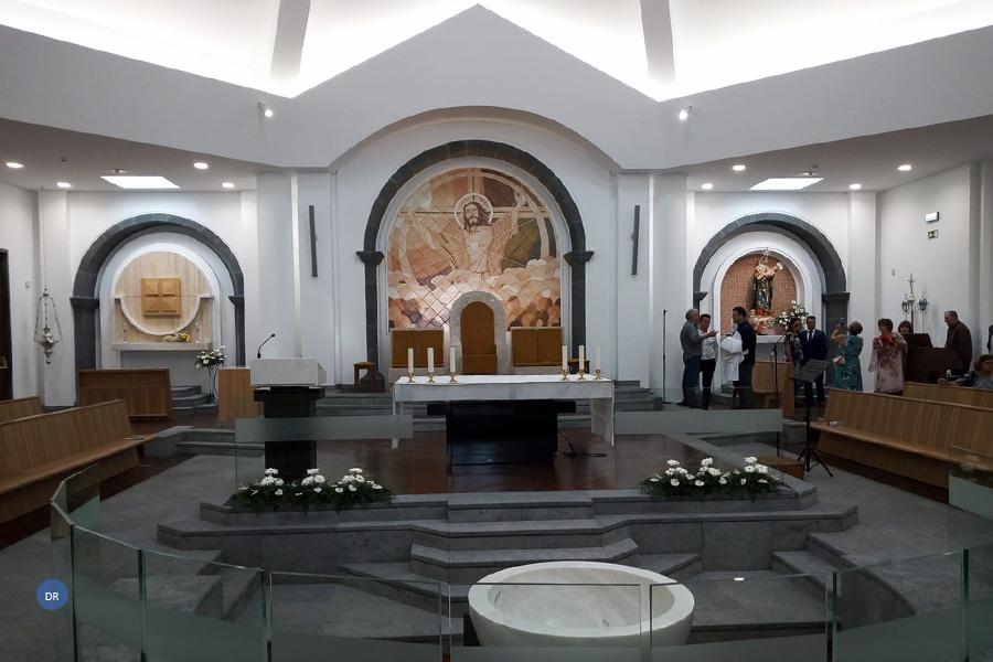 Paróquia do Salão tem nova igreja ao fim de 21 anos