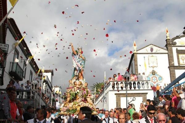 Festas de Nossa Senhora dos Anjos mobilizam freguesia de Água de Pau