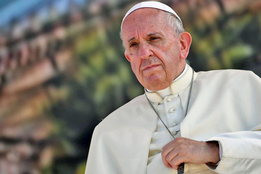 Papa apela à proteção das populações civis nas guerras