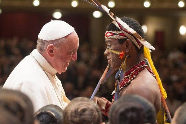 Papa sai em defesa do Sínodo da Amazónia: um território decisivo para a sobrevivência da humanidade
