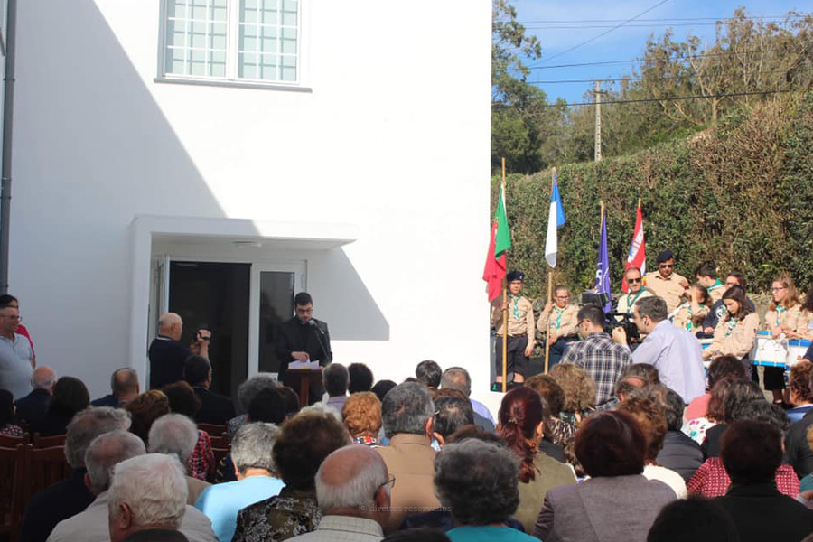 Feteira inaugura Centro Paroquial Pe. António Rocha