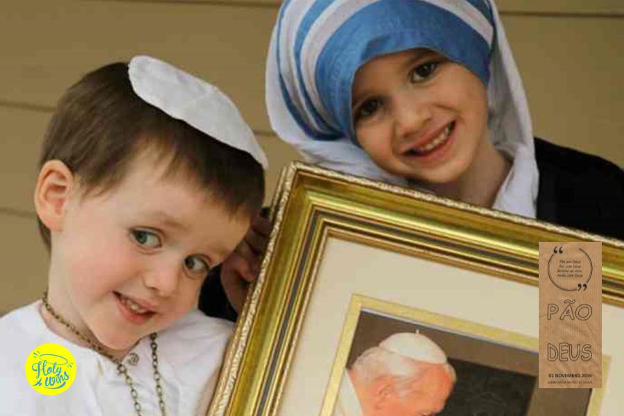 Paróquia da Lagoa celebra Pão por Deus na Missa do Dia de Todos os Santos