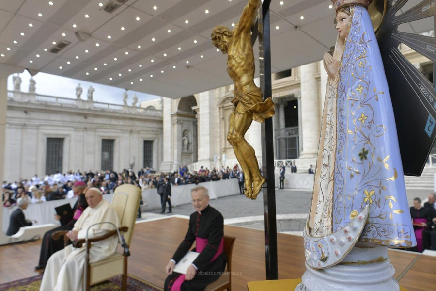 """Papa destaca papel de """"acolhimento e serviço"""" das mulheres nas primeiras comunidades cristãs"""