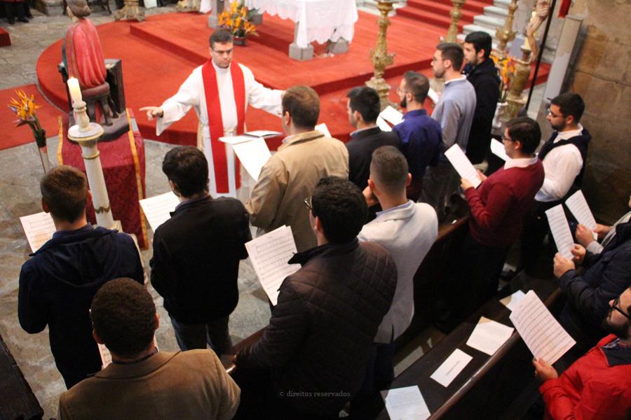 Festa de Santa Cecília na Sé de Angra