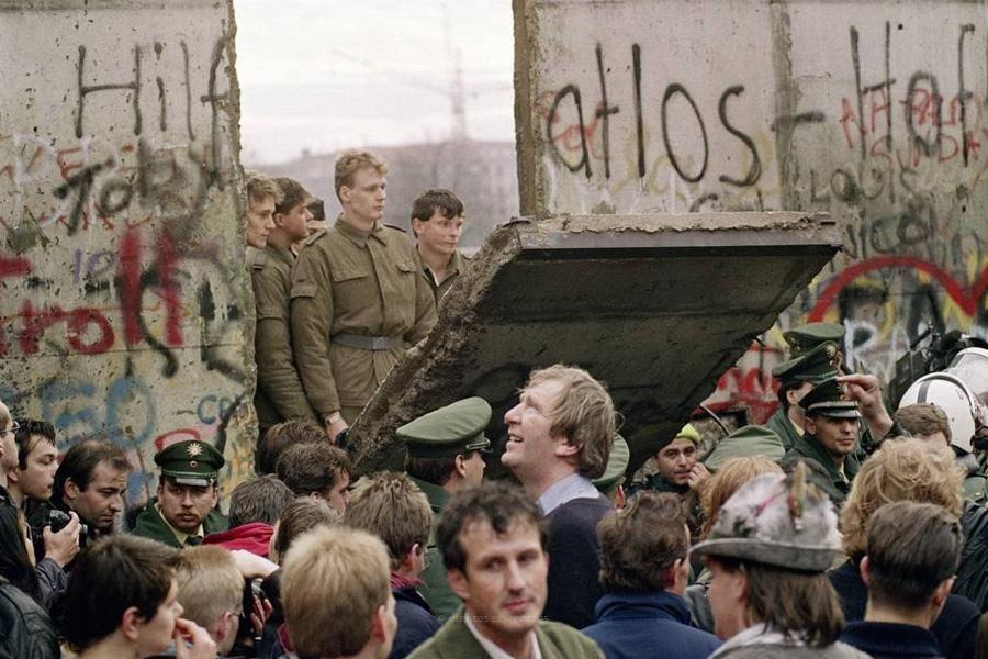 O muro de Berlim caíu há 30 anos