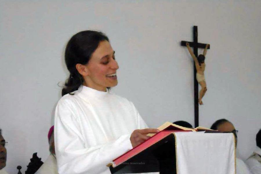 Rita Ornelas é uma das religiosas açorianas mais novas a servir no país