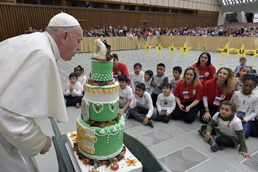Papa pede que o Natal seja momento de fé, fraternidade e solidariedade
