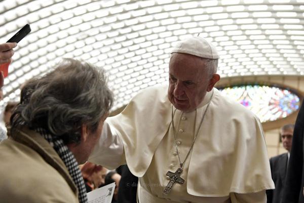"""""""Os idosos não são sobras de vida"""", disse o Papa"""