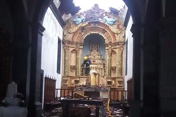 Governo garante apoio para recuperação da Igreja do Capelo