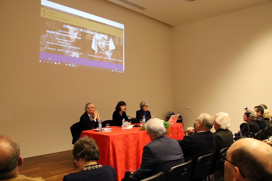 Uma economia que não tenha as pessoas no centro não serve, afirmam palestrantes da jornada sobre Economia e Sociedade promovida pelo Instituto Católico de Cultura