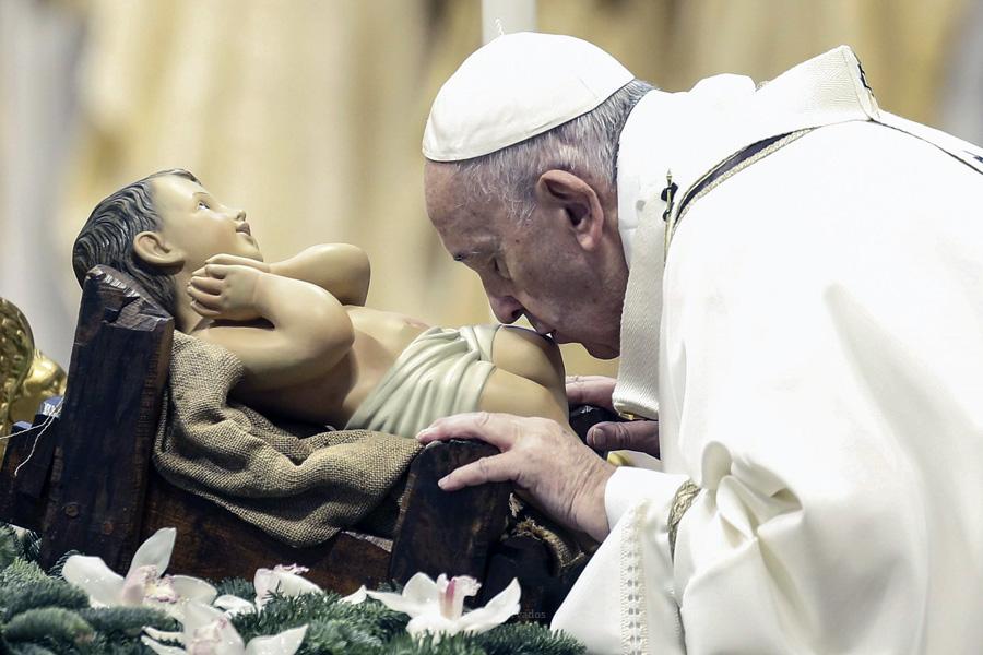 Celebrações do Natal devem levar a «mudança» de vida, diz o Papa