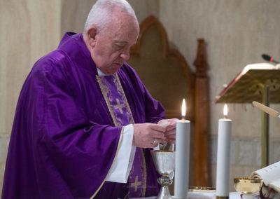Doentes do Coronavírus com indulgências do Papa