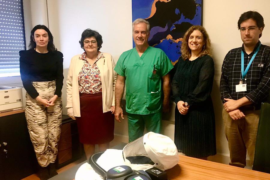 Liga dos Amigos dos doentes e Cáritas Diocesana apoiam hospitais regionais