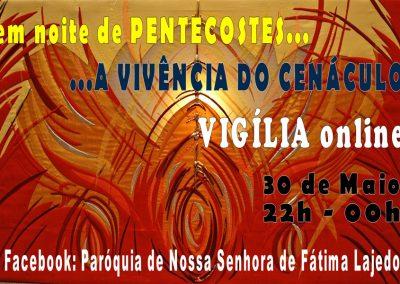 Cenáculo organizado na Igreja do Lajedo celebra noite de Pentecostes