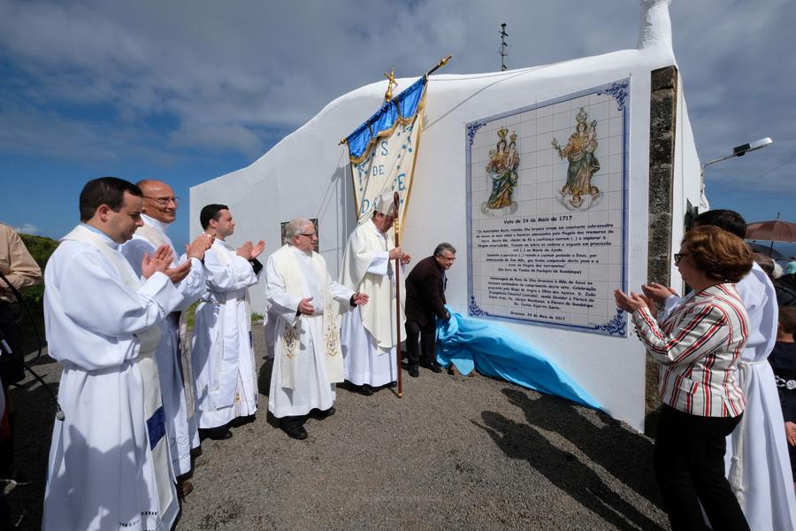 Graciosenses impedidos de cumprir pela primeira vez o voto de acção de graças à Senhora de Guadalupe e Senhora da Ajuda