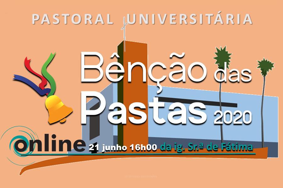 Bênção dos finalistas da UA será realizada online a partir da Igreja do Lajedo