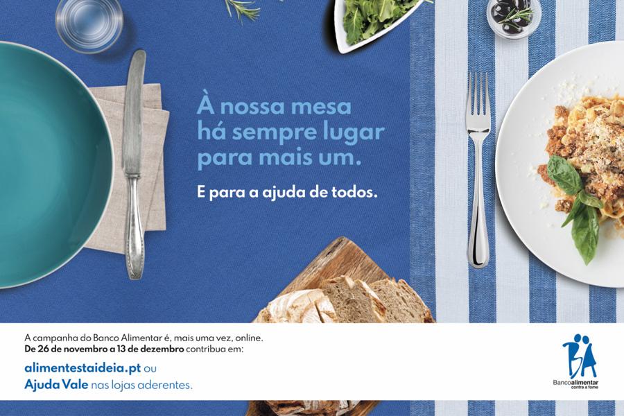 """Bancos Alimentares Contra a Fome promovem campanha """"para que ninguém fique sem alimento à mesa"""""""