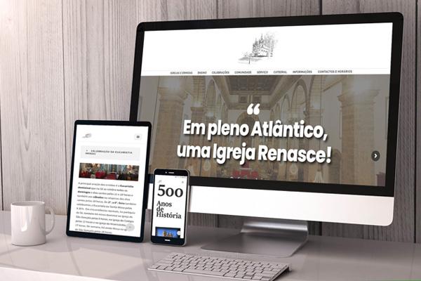 Paróquia da Sé constrói morada digital e assinala 450 aniversário do lançamento da primeira pedra do edifício