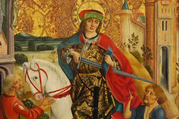 Papa recorda São Martinho, santo da caridade