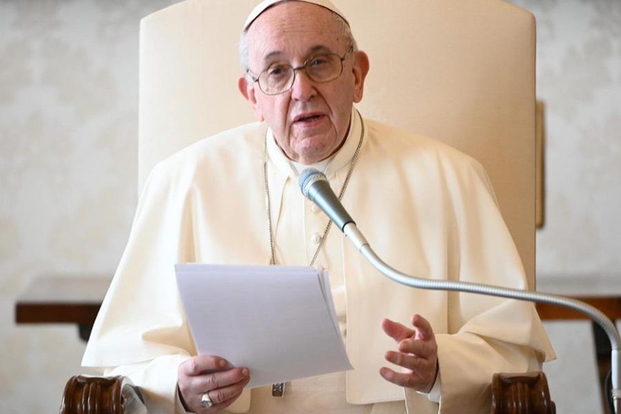 Papa apela a atenção aos mais necessitados